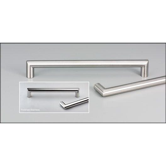 ... Cabinet Handle SSS 128mm C To C 141mm Overall Satin Stainless Steel  Finish ...